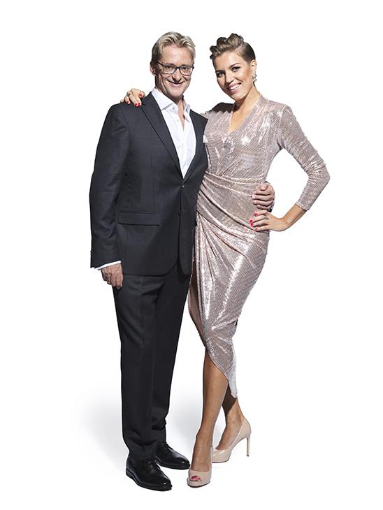 Saana Akiola ja Mikael Jungner