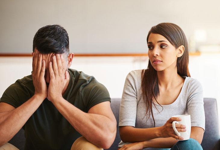 Miehet reagoivat stressiin herkemmin kuin naiset.