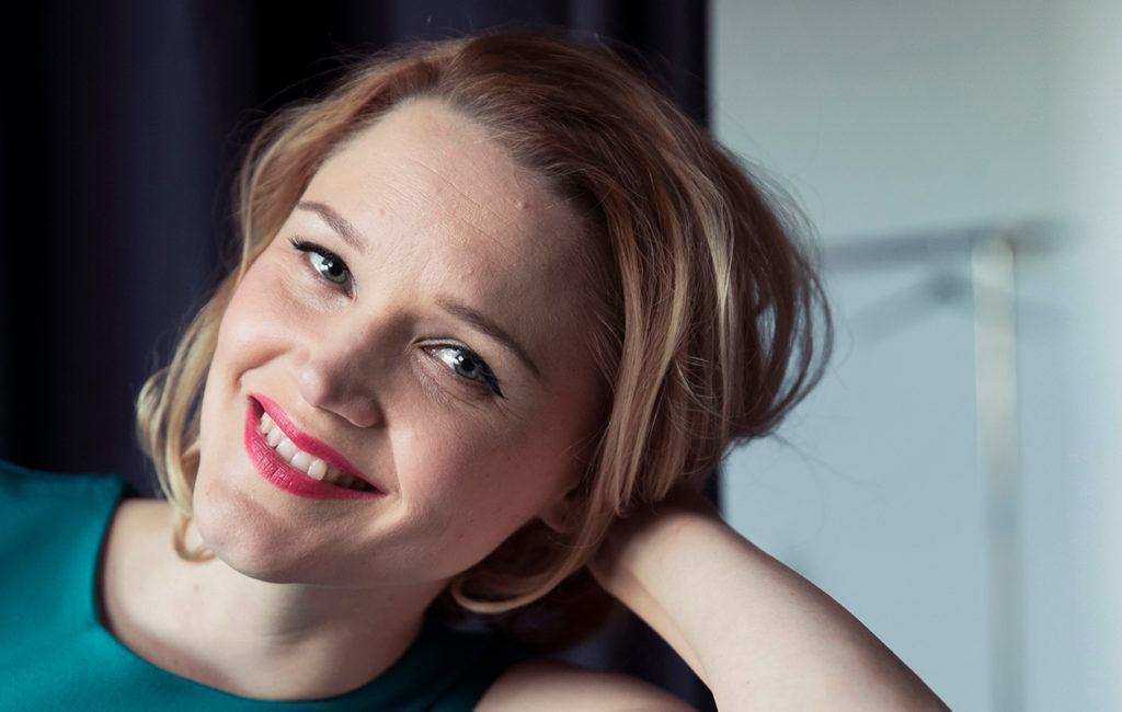 Anna-Maija Tuokko synnytti kuopuksensa keväällä 2019.