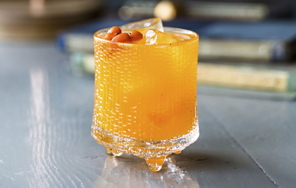 gini tyrni, ihana drinkki