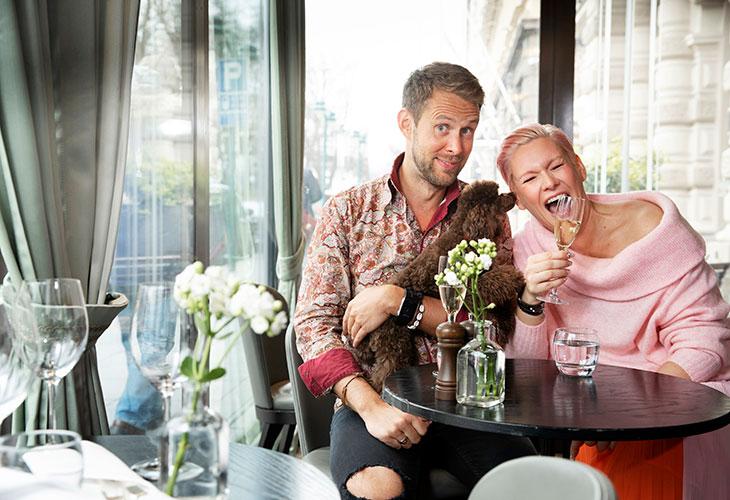 Heidi Sohlberg ja Waltteri Torikka aikovat viettää joulun yhdessä.