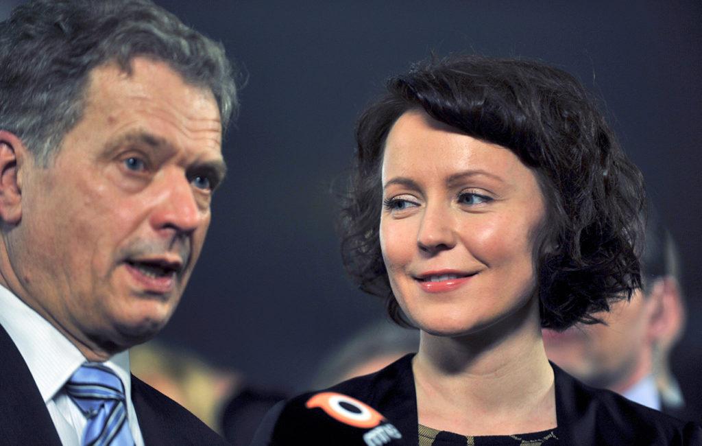 Sauli Niinistö ja Jenni Haukio ovat toisiinsa luottava työpari.
