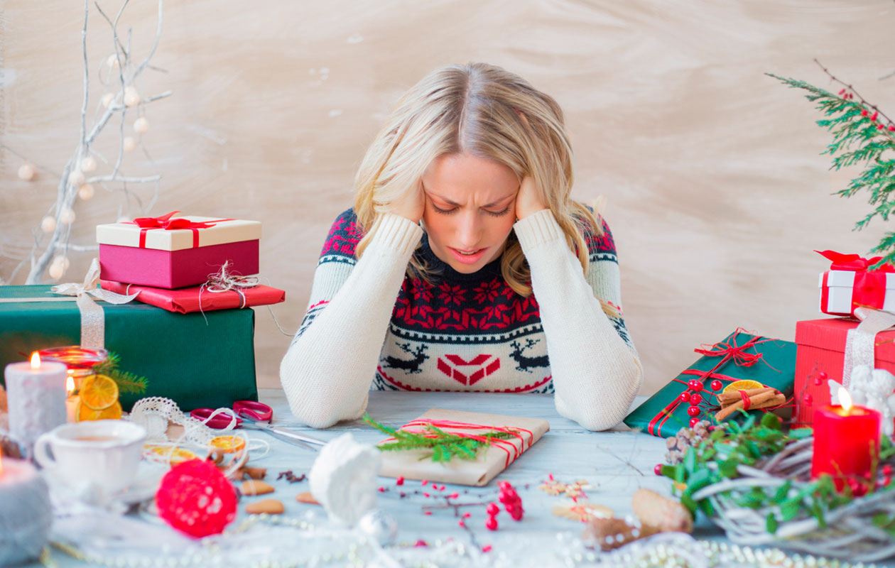 Joulustressi voi tehdä joulun odotuksesta piinaavan kokemuksen.