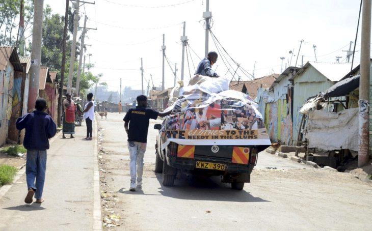 Korogochon slummi on Kenian suurimpia ja koti yli 200 000 kenialaiselle.