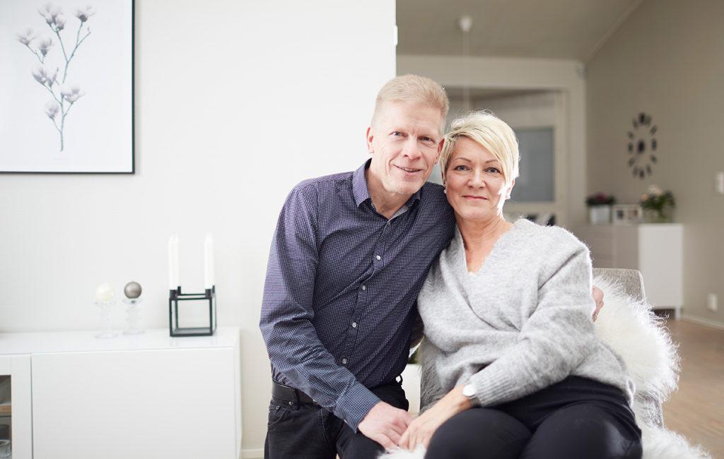 28 vuotta naimisissa olleet Veli ja Soile Pelkonen kokevat, että sairauden läpikäyminen on vahvistanut heidän suhdettaan.