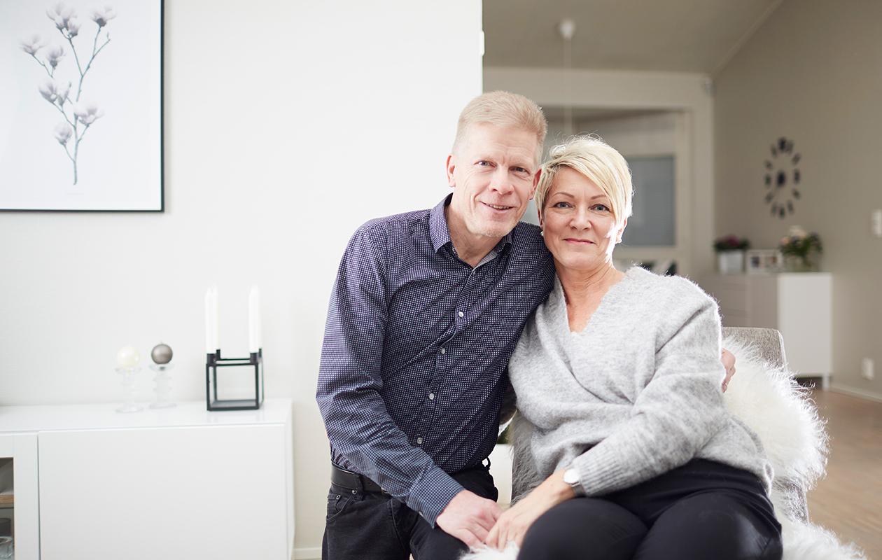 28 vuotta naimisissa olleet Veli ja Soile Pelkonenkokevat, että sairauden läpikäyminen on vahvistanut heidän suhdettaan ja lisänneet keskinäistä arvostusta.