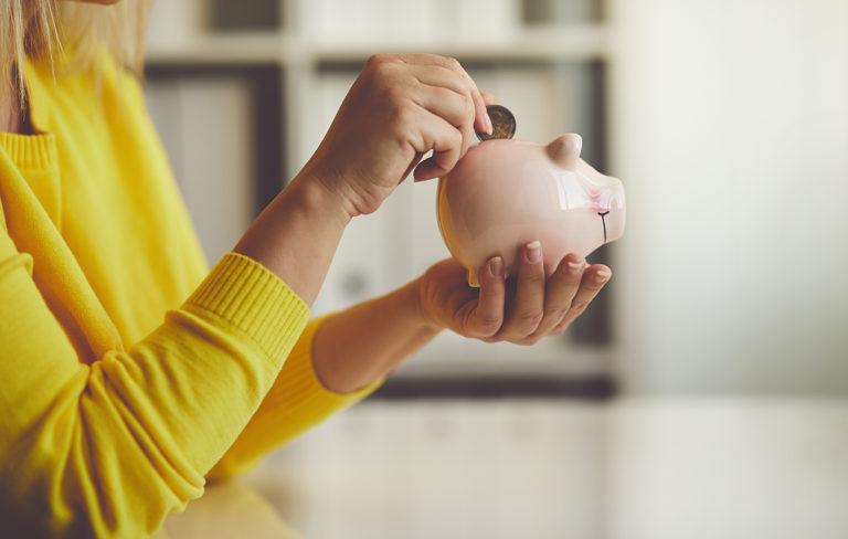 Säästäminen kannattaa, varsinkin, jos tulot ovat pienet