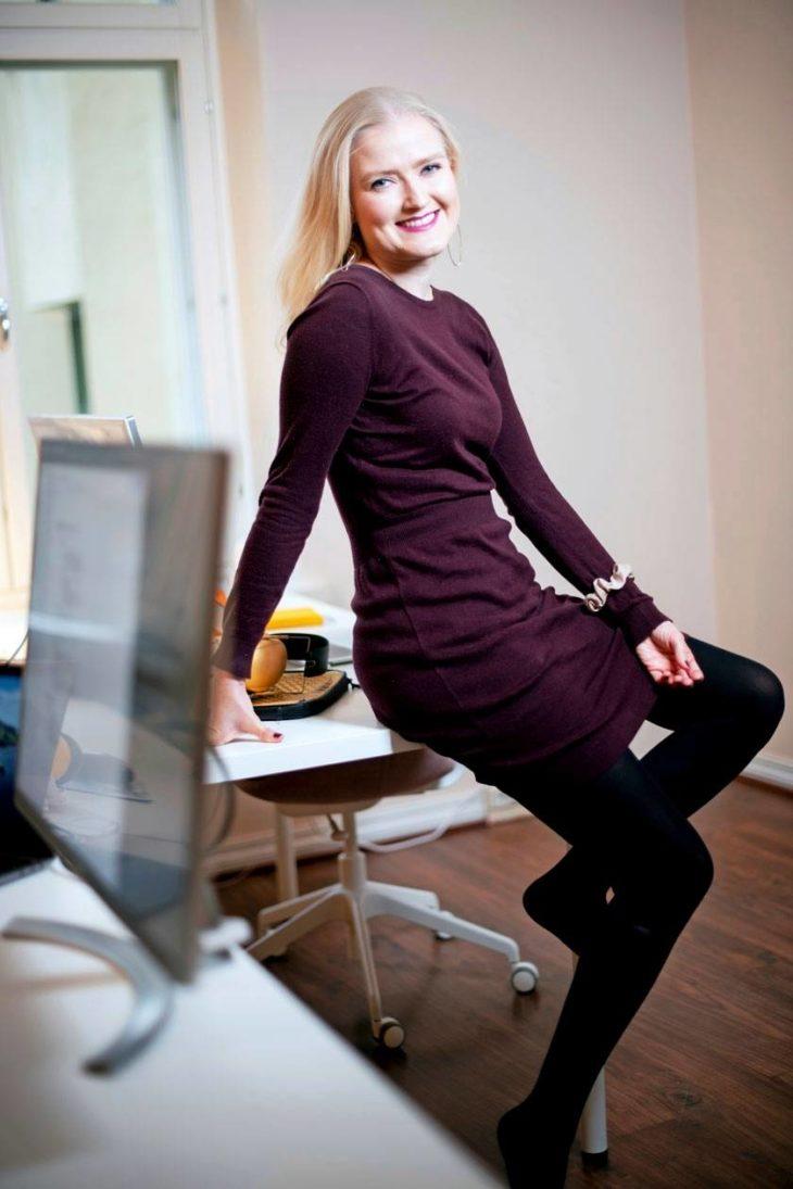 It-yrityksen toimitusjohtajana Annu Nieminen on oppinut arvostamaan omaa herkkyyttään.