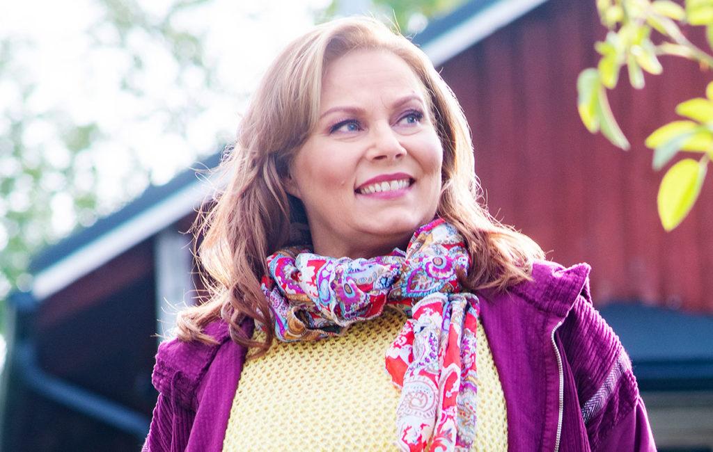 Nina Mikkonen on pudottanut runsaasti painoa.