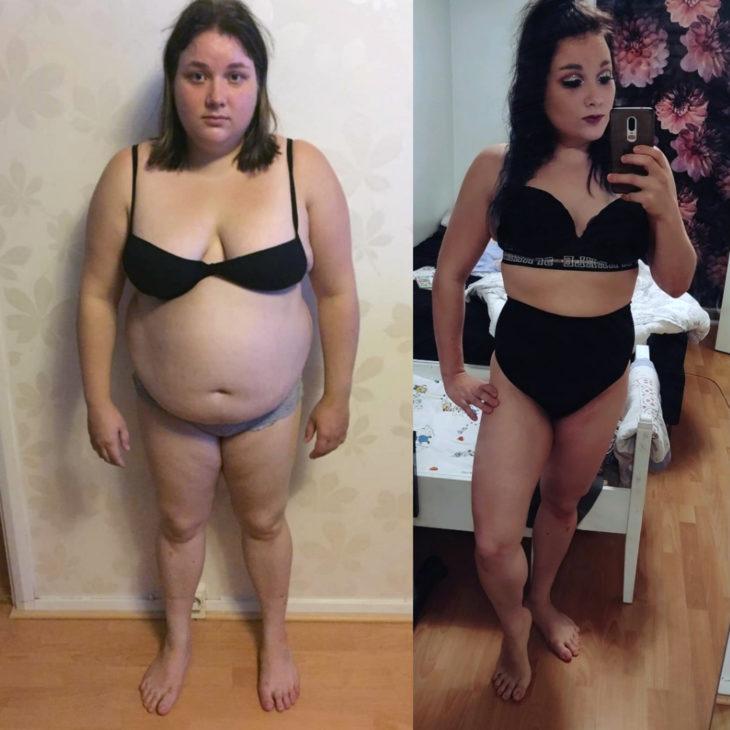 Ahminta, ahmintahäiriö, laihdutus, elämänmuutos