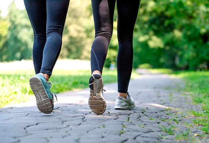 Matalatehoinen liikunta on hyvä keino polttaa rasvaa.
