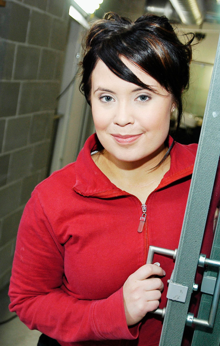 Haluatko filmitähdeksi -ohjelmassa vuonna 2003. Tuolloin Hanna käytti vielä tyttönimeään Karjalainen.