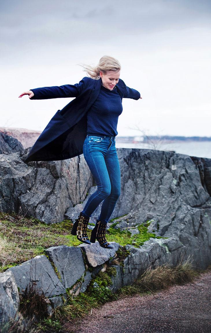 – Onnea on se, että nuo elämän eri osa-alueet ovat tasapainossa, Minka Kuustonen sanoo.