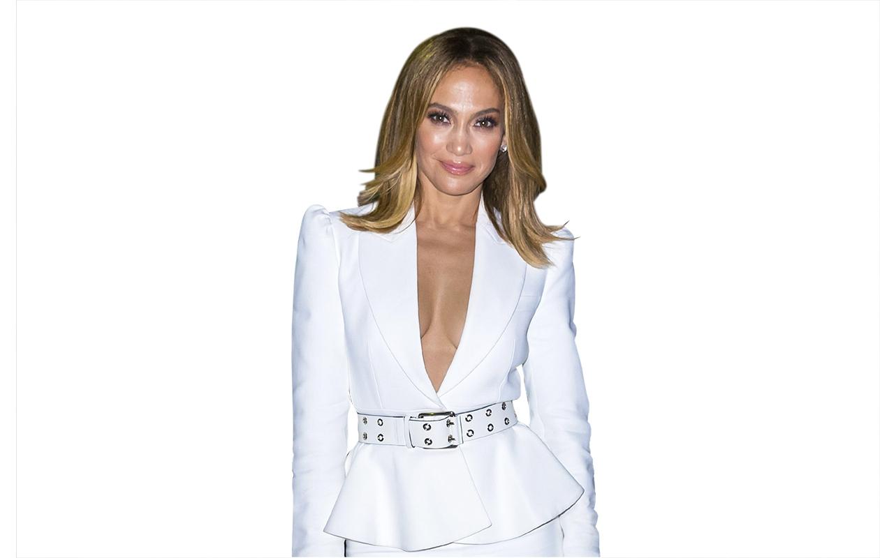 Hiustrendit 2020: Jennifer Lopez polkkatukassa.