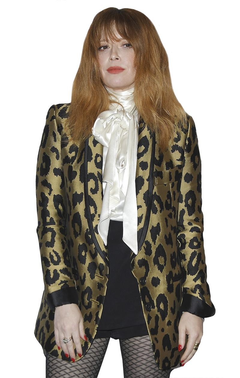 Huistrendit 2020: Shag-kampaus näyttelijä Natasha Lyonnen tyyliin.