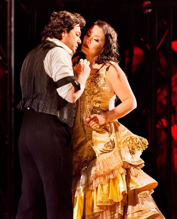 Arturo Chacón-Cruz ja Niina Keitel