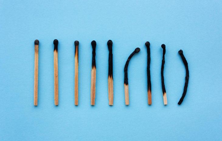 Työuupumuksen vaiheet voi jakaa viiteen eri tasoon.