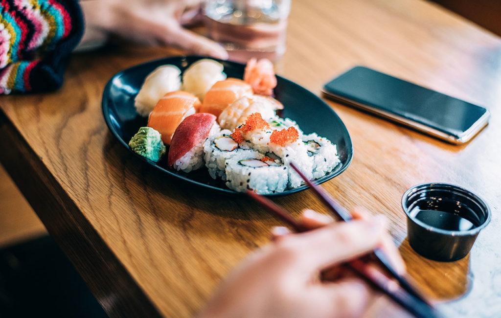 Sushia saa tätä nykyä niin sushiravintoloista kuin monesta tavallisesta ruokakaupastakin.