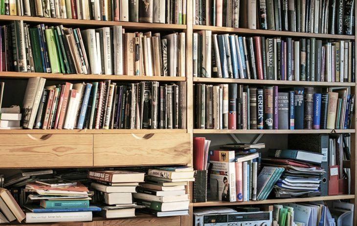Neljä julkkista esitteli kotinsa kirjahyllyn. Arvaatko, mikä on kenenkin?