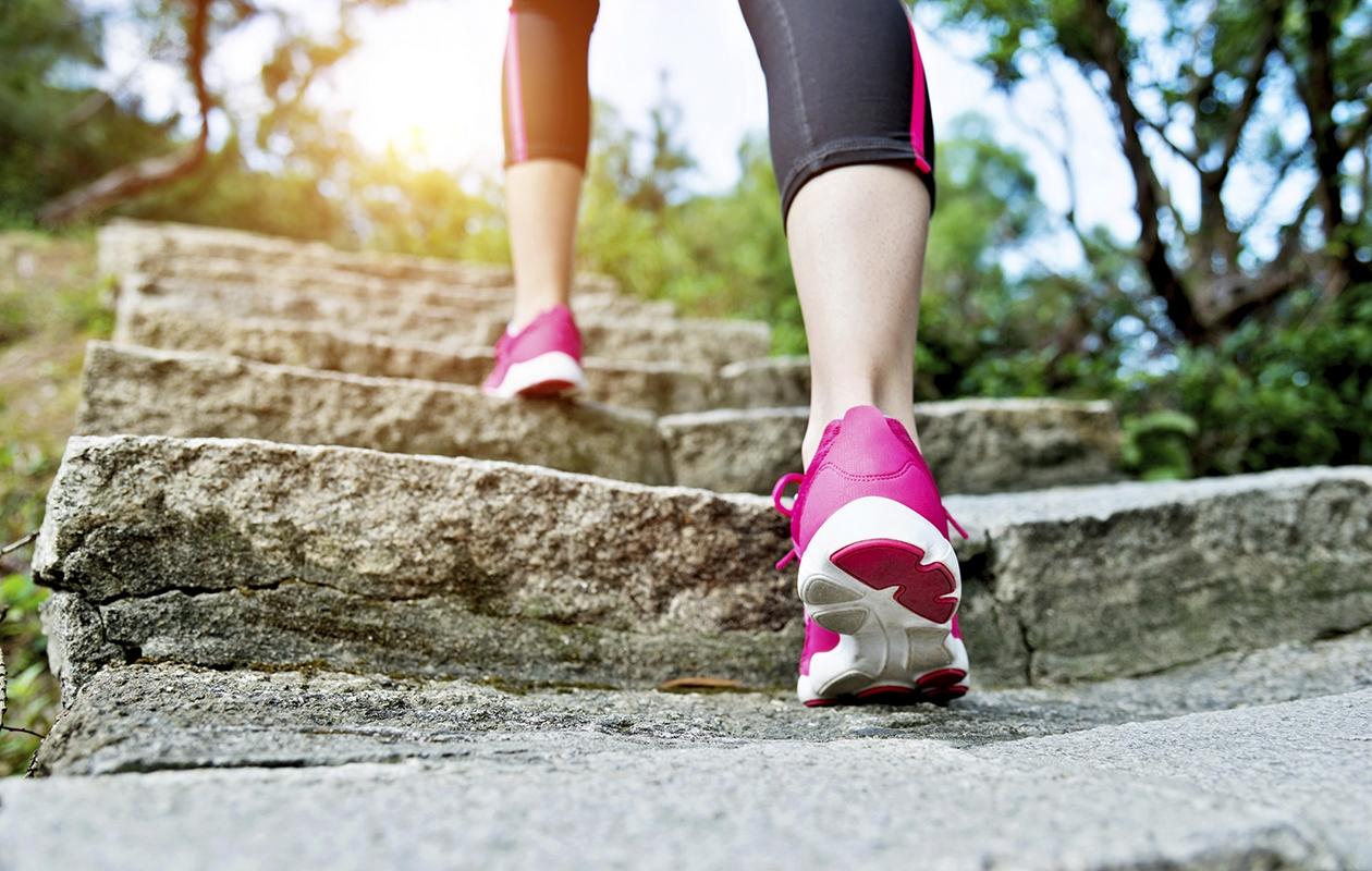 Kävellen liikkuminen on oiva kuntomuoto kenelle tahansa.