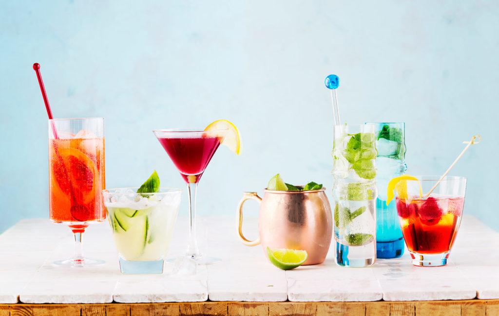 Alkoholiton booli on trendikäs juhlajuoma.