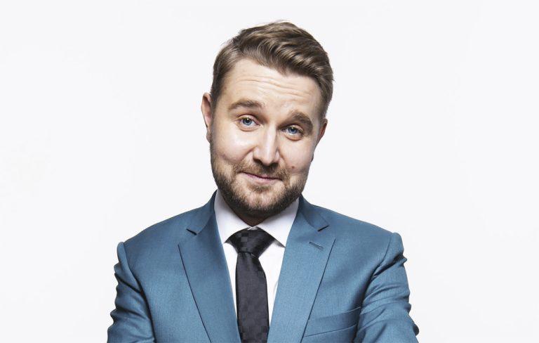Joonas Nordman, 33, vetää viihteellistä keskusteluohjelmaa MTV3:lla.