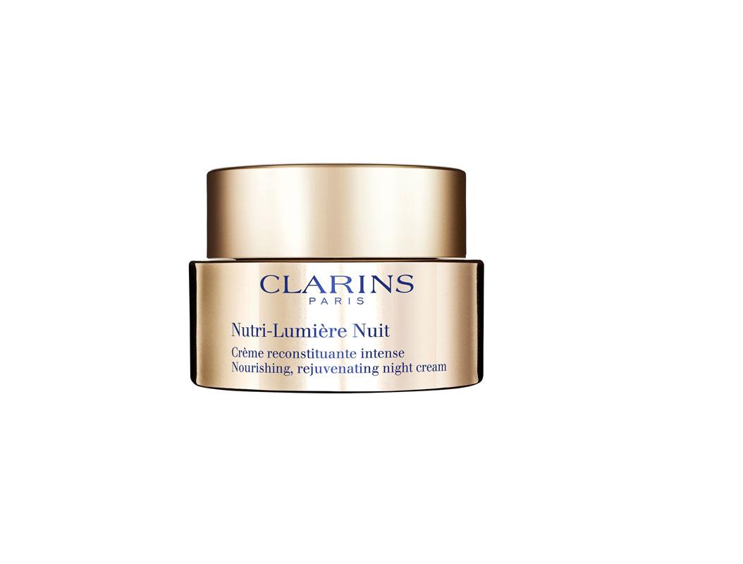 Clarins Nutri-Lumière Night Cream -yövoide 50ml 138e.