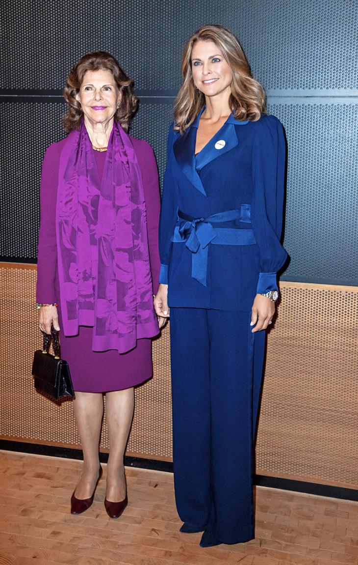 Ruotsin prinsessa Madeleine ja kuningatar Silvia