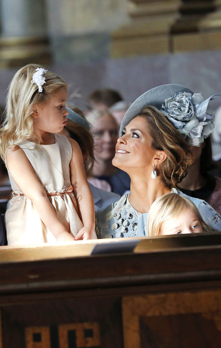 Ruotsin Prinsessa Madeleine, prinsessa Leonore ja prinssi Nicolas