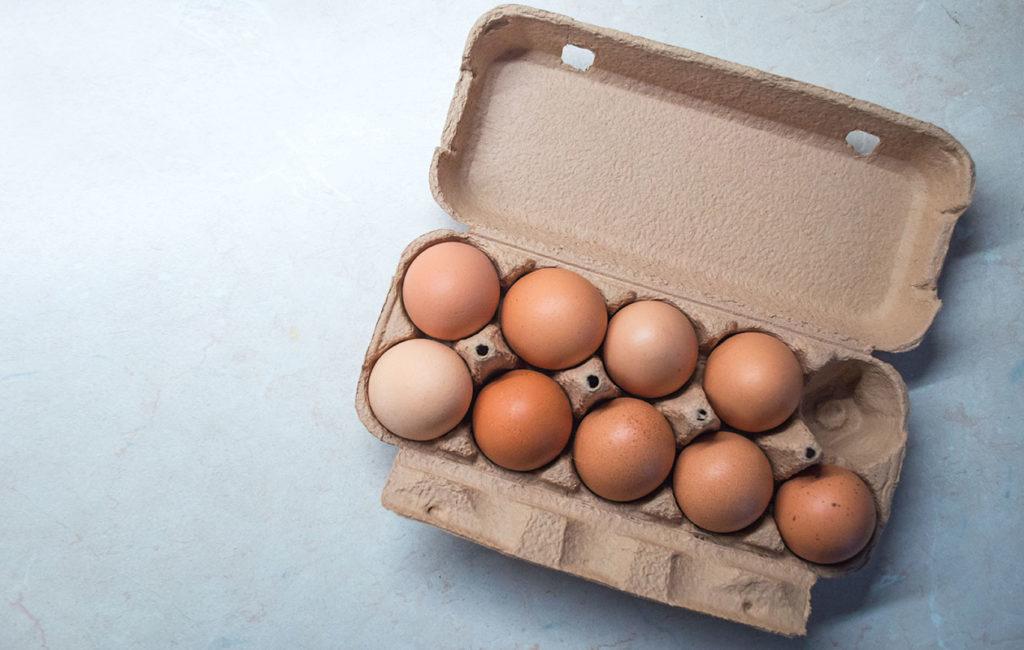 Kananmuna on harvinaisen ravinteikas ruoka-aine.