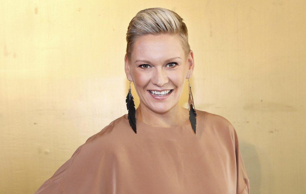 Heidi Sohlberg viihtyy lyhyissä hiuksissa.