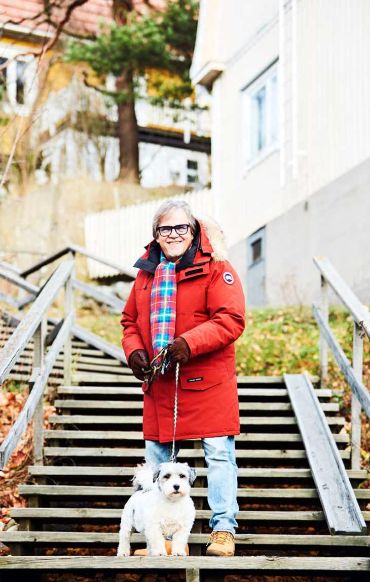 Mikko Alatalo ja Ringo Tampereen Pispalan portailla.