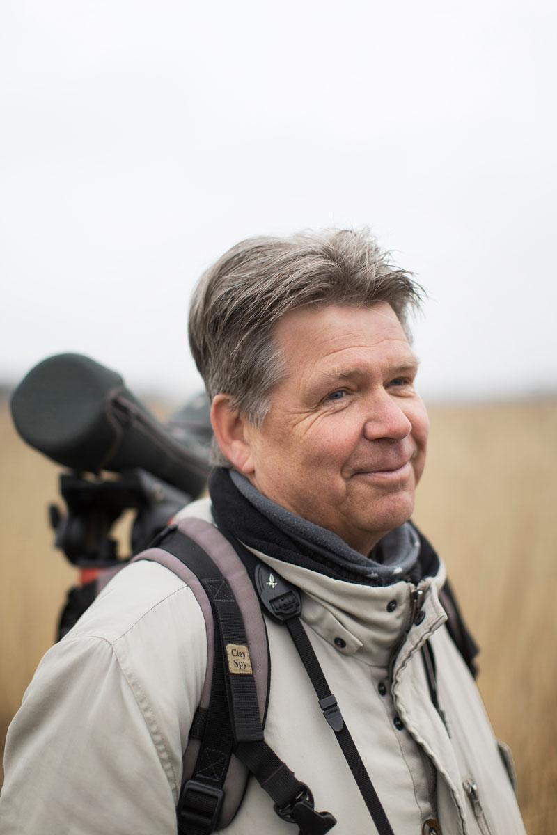 Jari Markkula on harrastanut lintuja yläkoulusta saakka, osittain saman porukan kanssa.