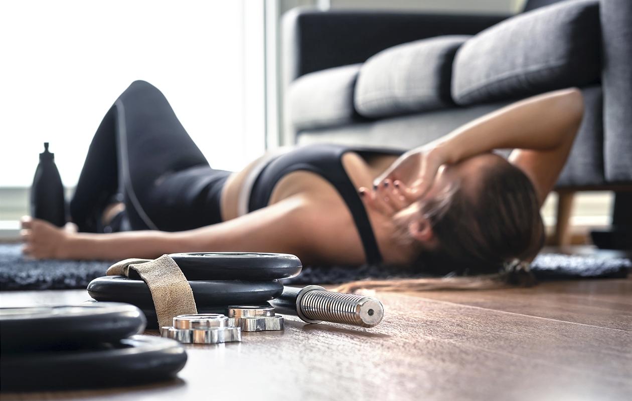 Motivaatio liikuntaa kohtaan voi lopahtaa, jos tavoitteet ovat liian suuret.