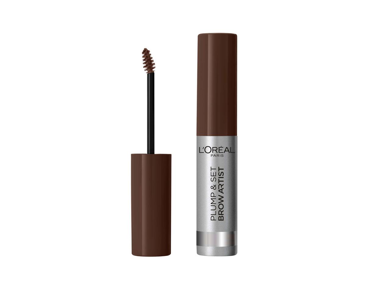 L'Oréal Paris Plump & Set Brow Artist -kulmamaskara, sävy 108 Dark Brunette, 9 e.