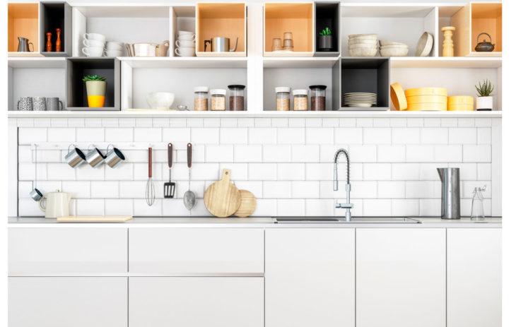 Hyvin järjestetyssä keittiössä jokaisella tavaralla on paikkansa.