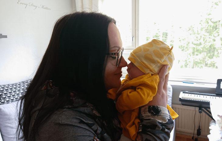 Lapsi tuntemattoman kanssa -Hanna