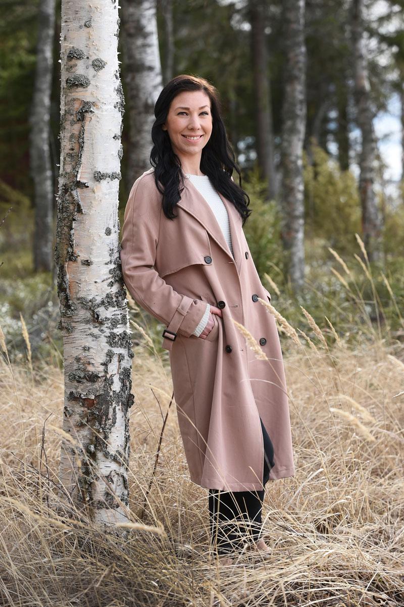 Salla Jämsenin ystävä Eeva on kulkenut rinnalla elämän monissa vaikeissa paikoissa.
