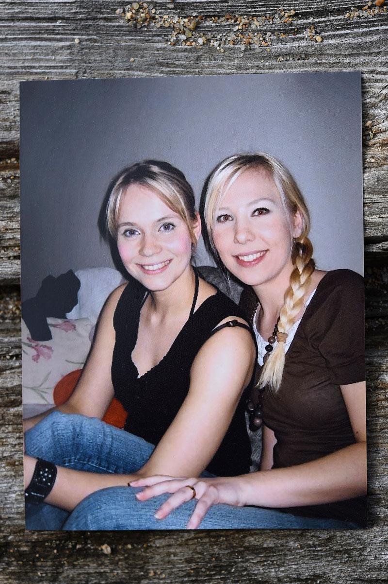 Ystävykset Eeva ja Salla ovat tunteneet toisensa esikouluikäisistä asti.