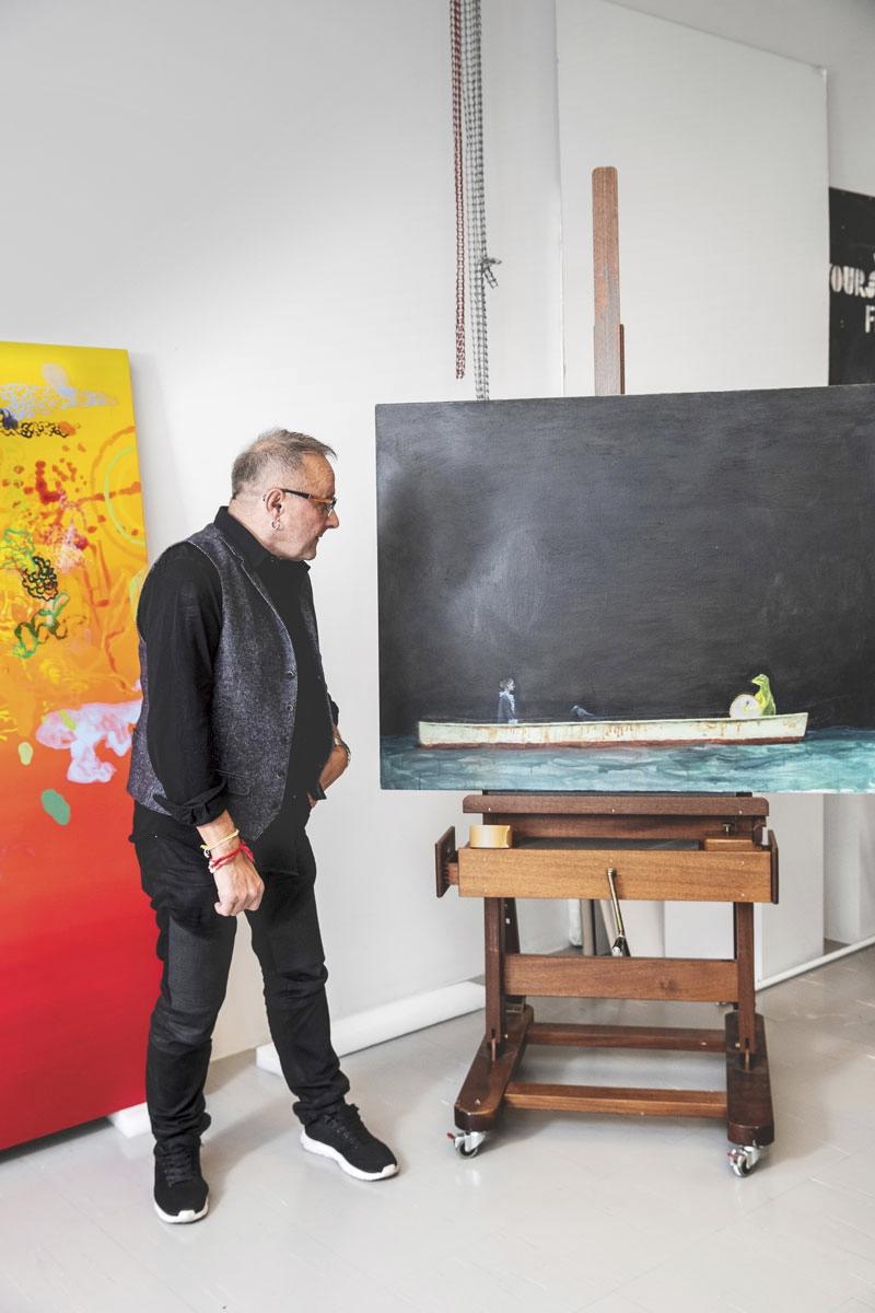 Seppo Fränti ja Ray Rummukaisen teosKesken kaiken (2003).