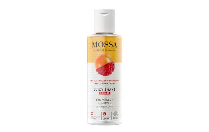 Markettikosmetiikkaa: Mossa Juicy Shake 2-Phase -silmämeikinpoistoaine