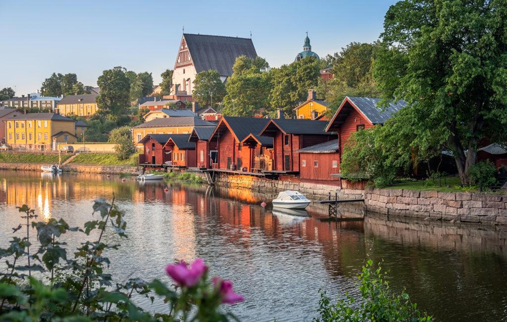 Porvoo on yksi Suomen kuvauksellisista matkakohteista.