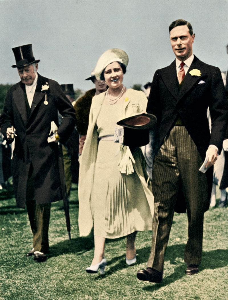 Kuningatar Elisabet ja kuningas Yrjö VI