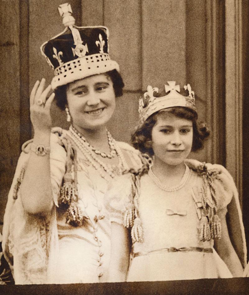 Kaksi Elizabethia, kuningatar ja kruununprinsessa
