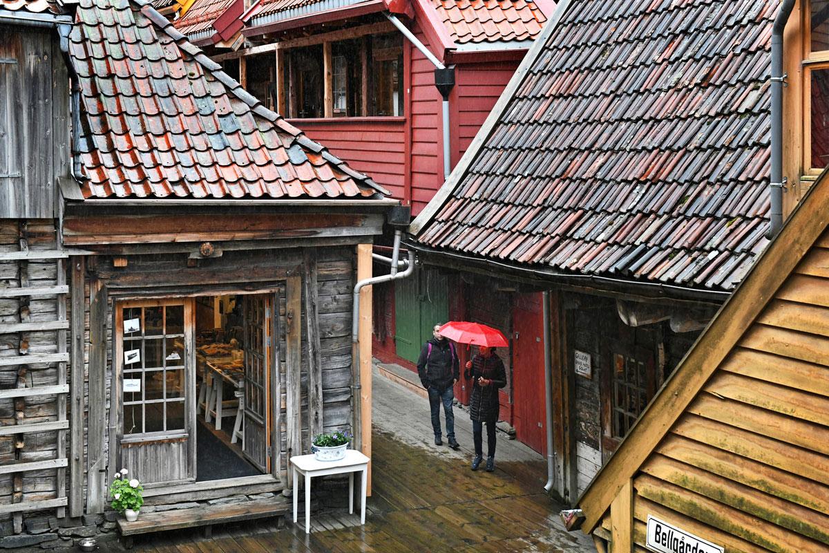 Bergen: Bryggenin satamakortteli
