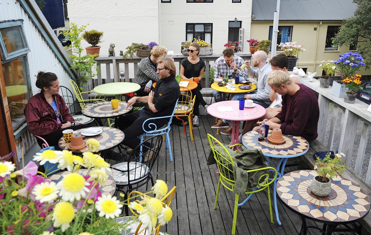 Reykjavik: Café Babalú on hyvä paikka poiketa kahville ja kakkupalalle.