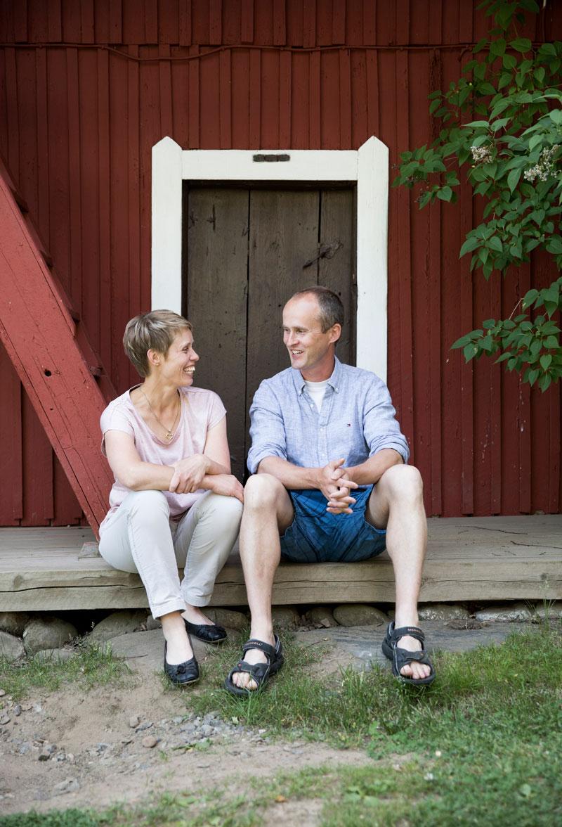 Laura ja Kalle Björnille työ matkailuyrittäjänä on elämäntapa.