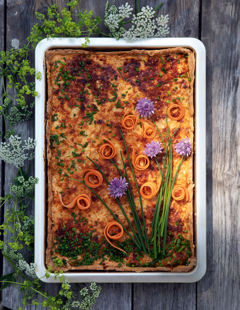 Suosikkileivonnainen: Porkkanapiirakka