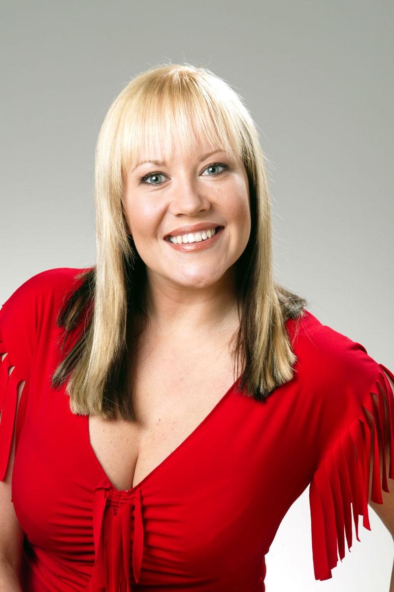 Laulaja Taina Kokkonen vuonna 2003.