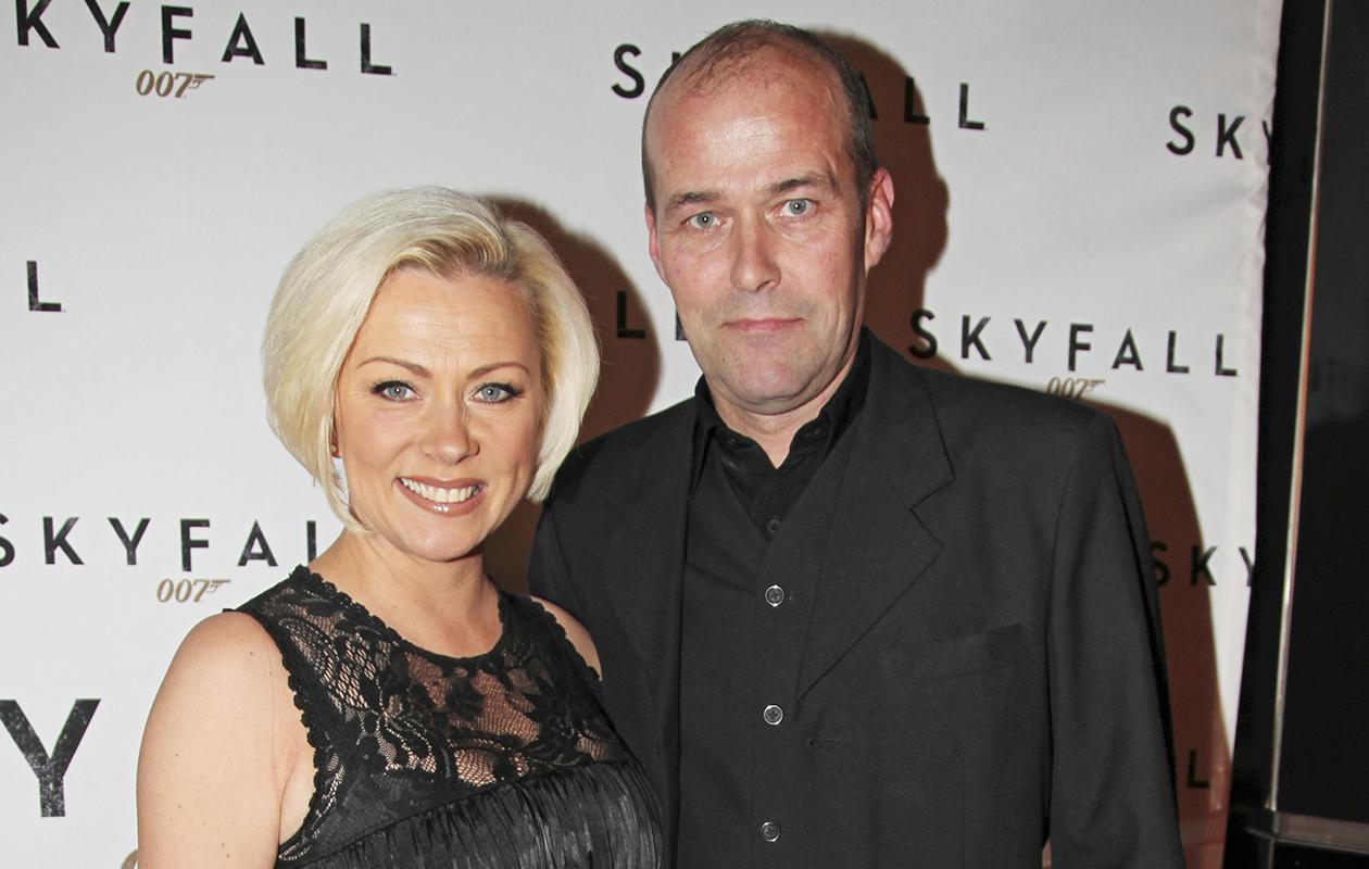 Tanssii tähtien kanssa -tuomari Helena Ahti-Hallberg ja hänen puolisonsa Eric Hallberg